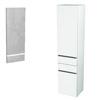 Фасад верхний к шкафчику подвесному KOLO Domino 37*160 левый белый
