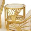 Столик кофейный из ротанга 01/14A2 55x70x50 см (коньяк/мед/олива/орех)